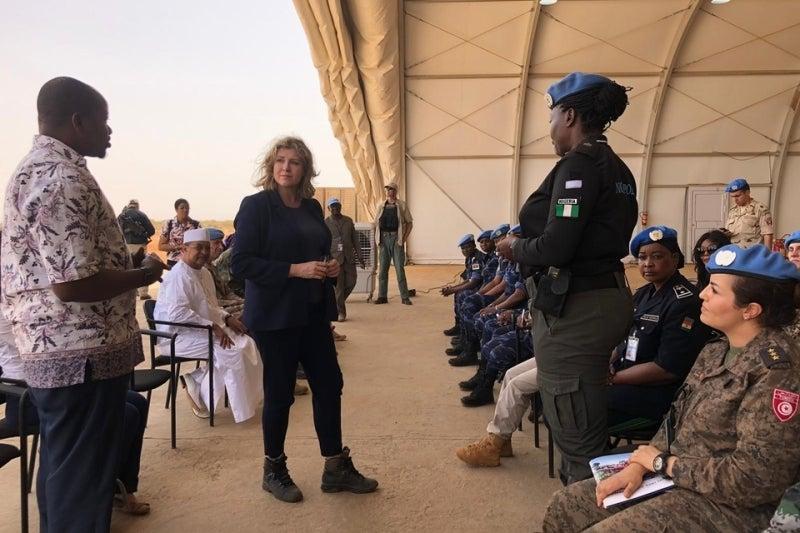 UK Mali deployment UN mission