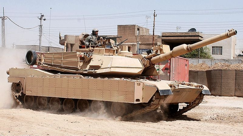 Palomar Display Products M1A2 Abrams