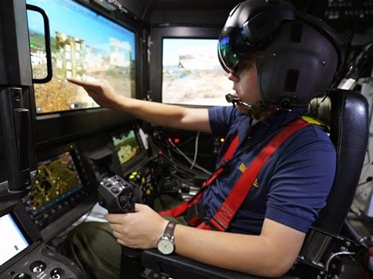 A view from the cockpit of Elbit Systems future AFV_