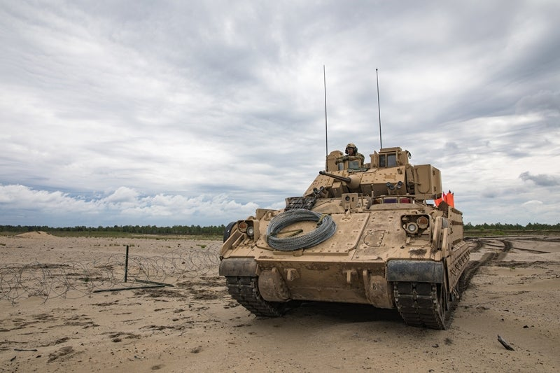 M2 Bradley vehicle