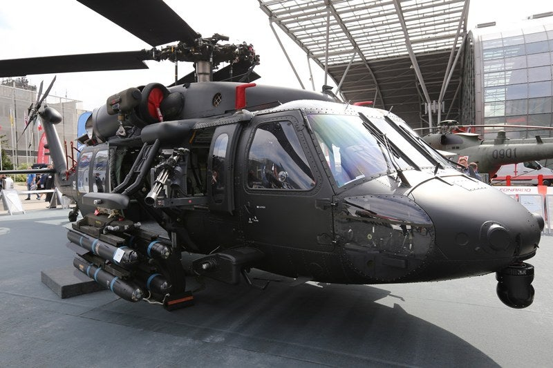 PZL Mielec Black Hawk helicopter pylon