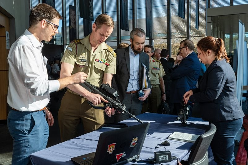 Industry pitches network assurance ideas at Australian Army Innovation Day