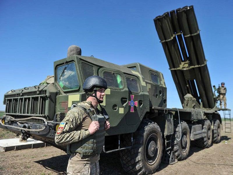 The Vilkha M MLRS has a maximum firing range of 130km. Image courtesy of MoD of Ukraine.
