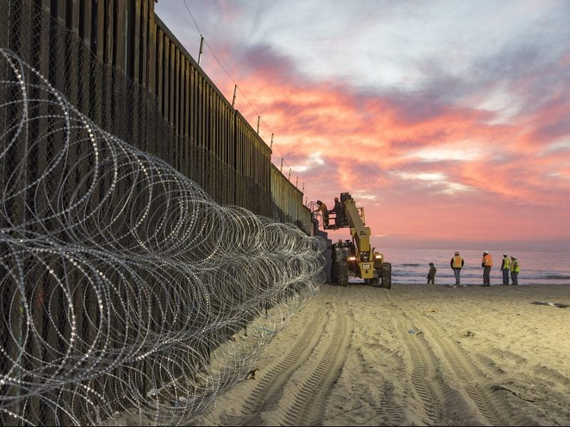 US DoD puts brakes on British military base projects for border wall