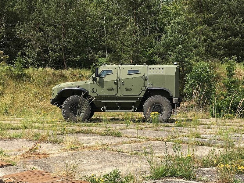 Zetor Gerlach Armoured Tactical Vehicle