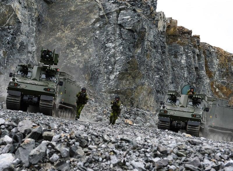 BvS10 all-terrain vehicle BAE Systems