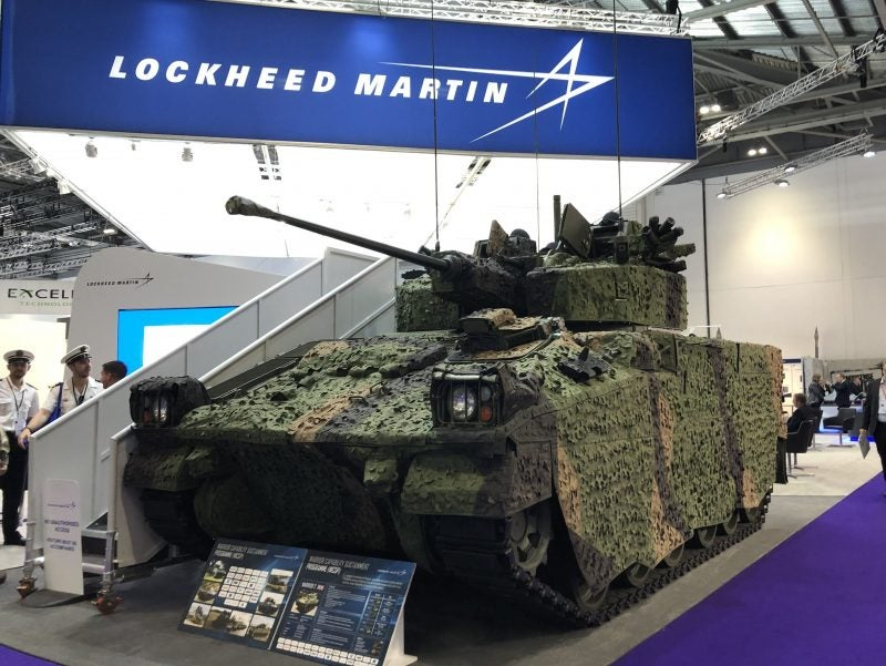 DSEI 2019: Lockheed Martin Warrior CSP on schedule
