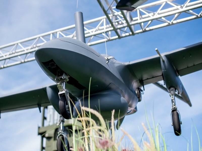 The Corsair UAV offers a speed of up to 150km/h. Image courtesy of Rostec.