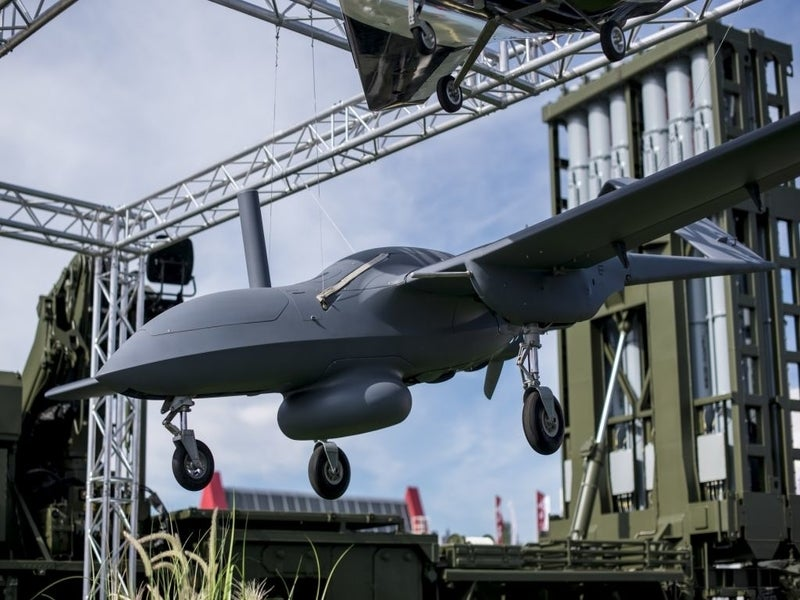 The Corsair aerial vehicle has a take-off weight of 200kg. Image courtesy of Rostec.
