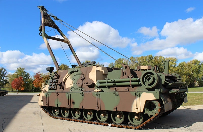 BAE Systems wins contract to upgrade US Army's M88A2 recovery vehicles