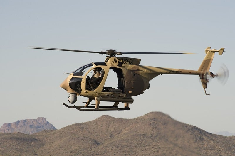 US authorises sale of AH-6i light attack helicopters to Thailand
