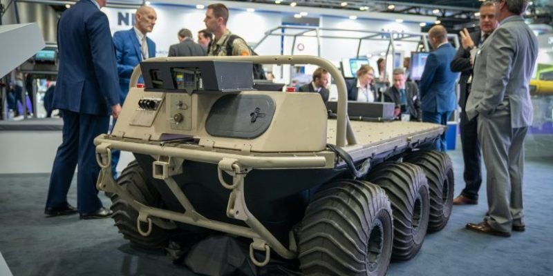 UK DASA awards funding to companies for Manned-Unmanned Teaming