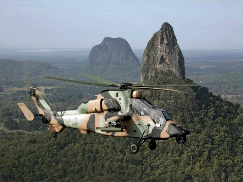 Airbus Australian Army Tiger helicopters