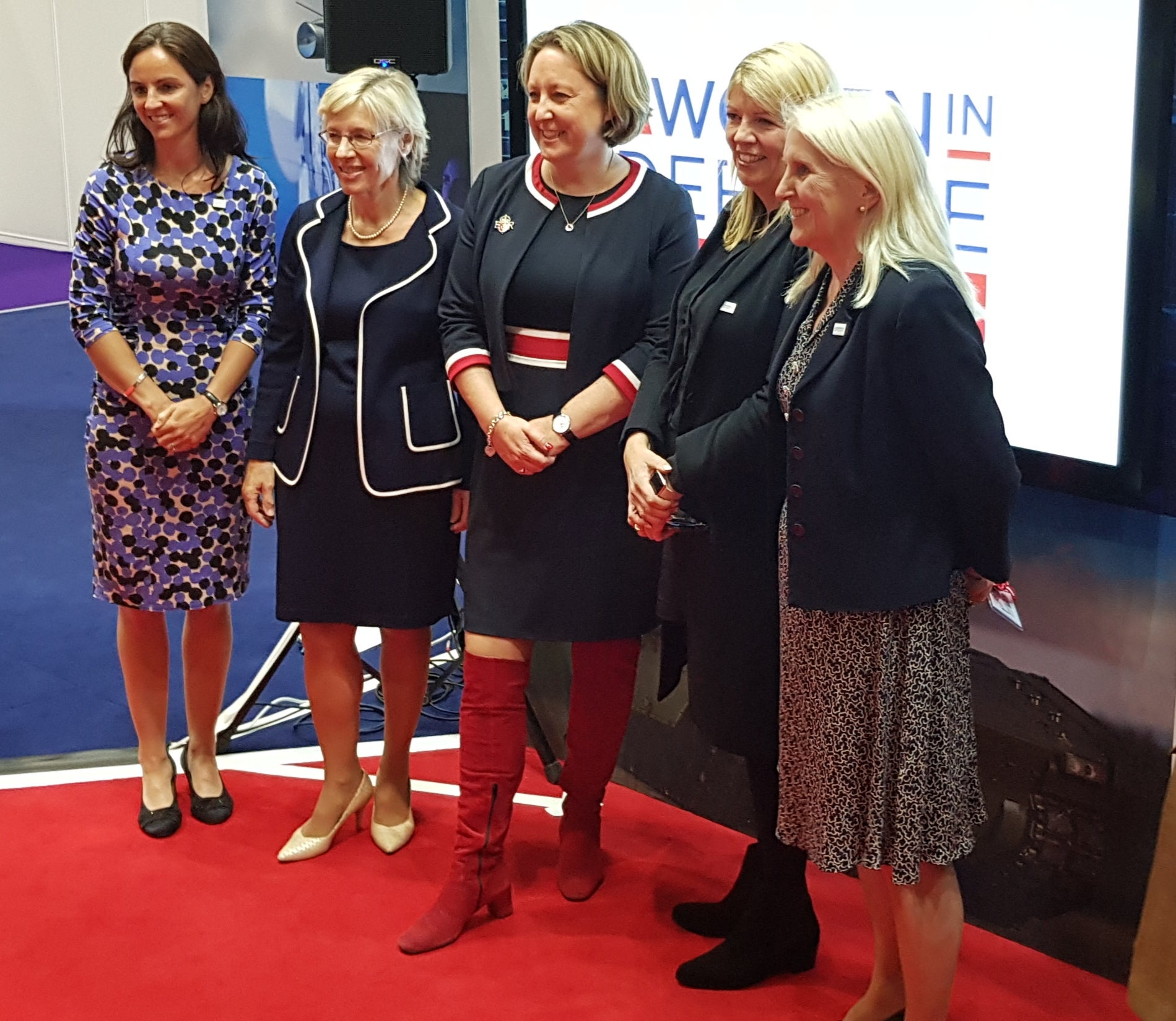 Women in Defence signatories