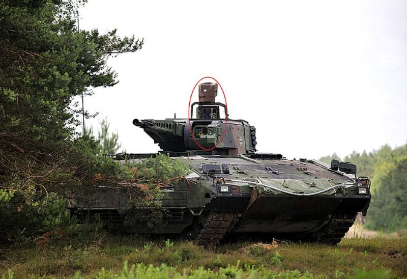Hensoldt delivers MUSS equipment set for German Puma IFV