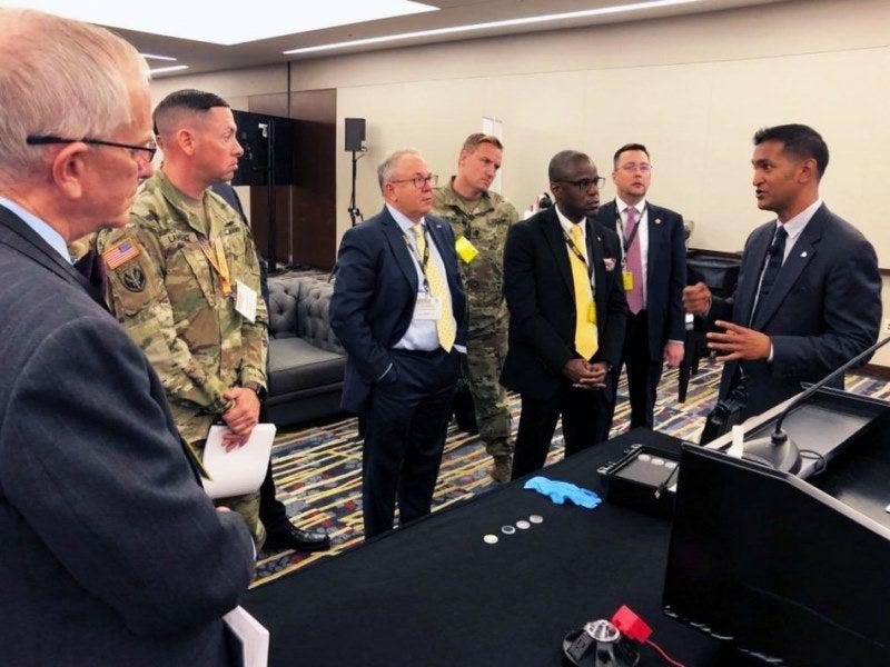 AKHAN demos diamond coating technology for weapons countermeasure