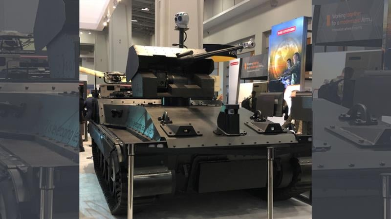 BAE Systems presents Robotic Technology Demonstrator at AUSA 2019