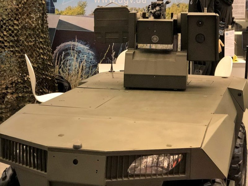 Laska 2.0 unmanned robotic platform is an autonomous multi-functional vehicle. Image courtesy of Infocom Ltd.