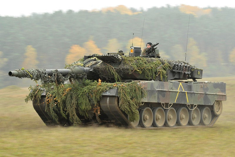 KMW delivers first upgraded Leopard 2 tanks to Germany, Denmark