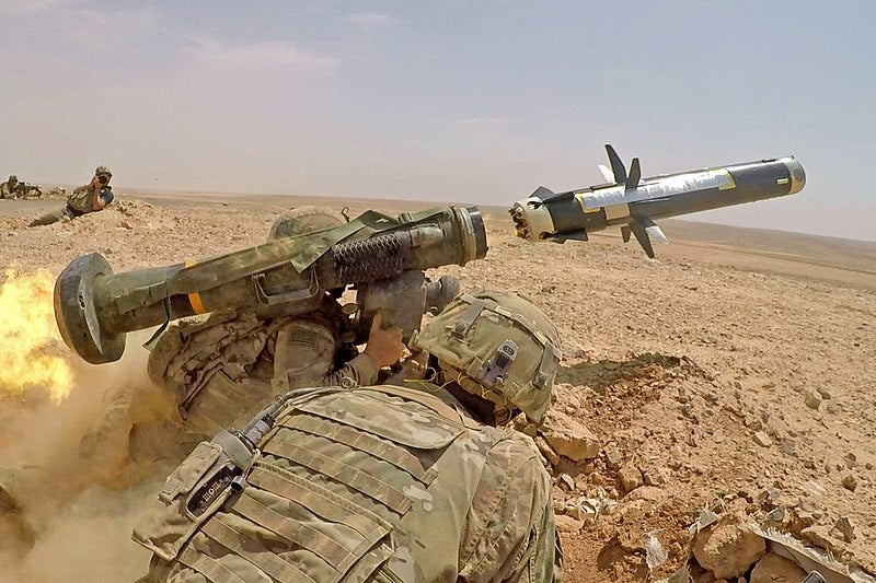 US State Department clears sale of 150 Javelin missiles to Ukraine