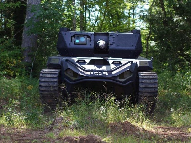 Textron unveils Robotic Combat Vehicle