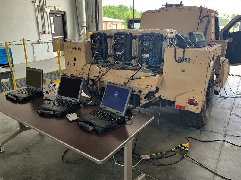 US Army unit gets new at-the-halt network prototypes