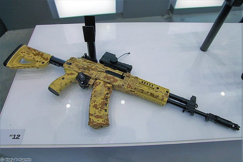 Kalashnikov delivers AK-12 assault rifles to Russian special forces