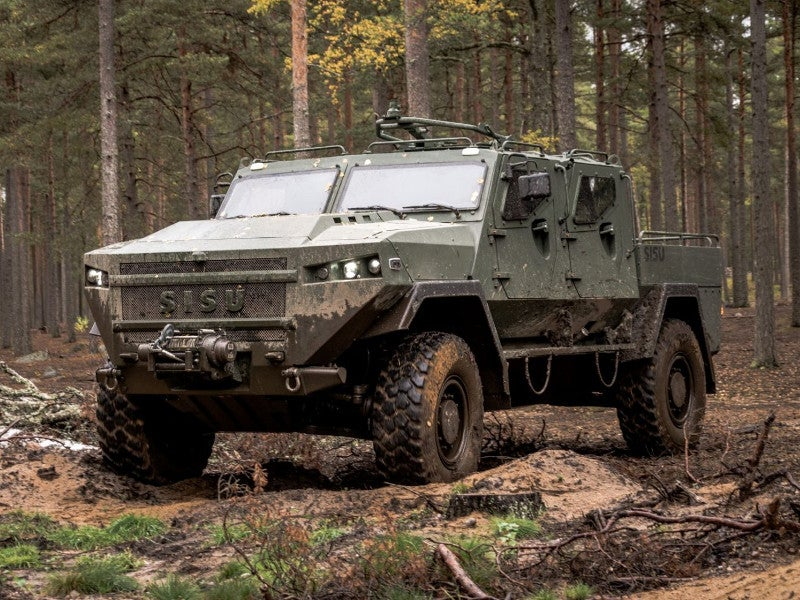 SISU GTP 4x4 general purpose vehicle was designed and developed by SISU Auto. Image courtesy of SISU Auto.