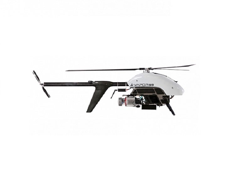 Vapor all-electric helicopter