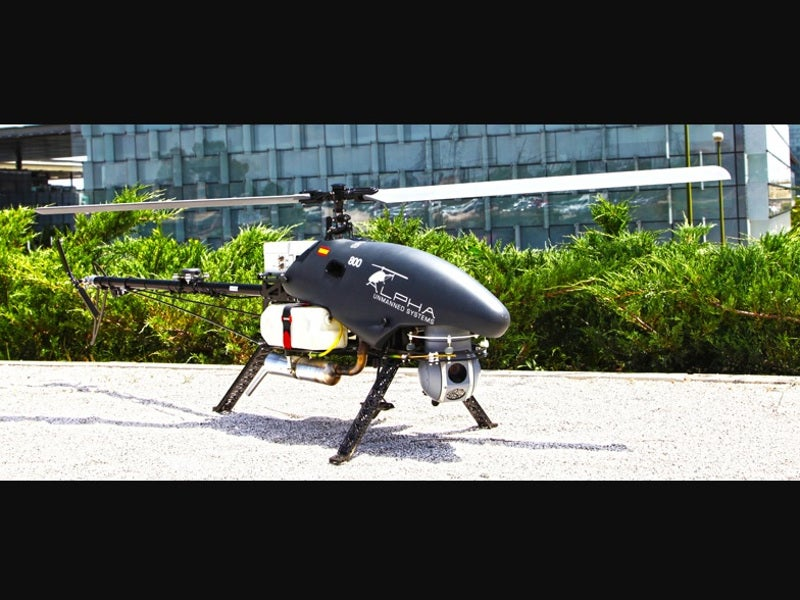Alpha 800 Unmanned Aerial Vehicle