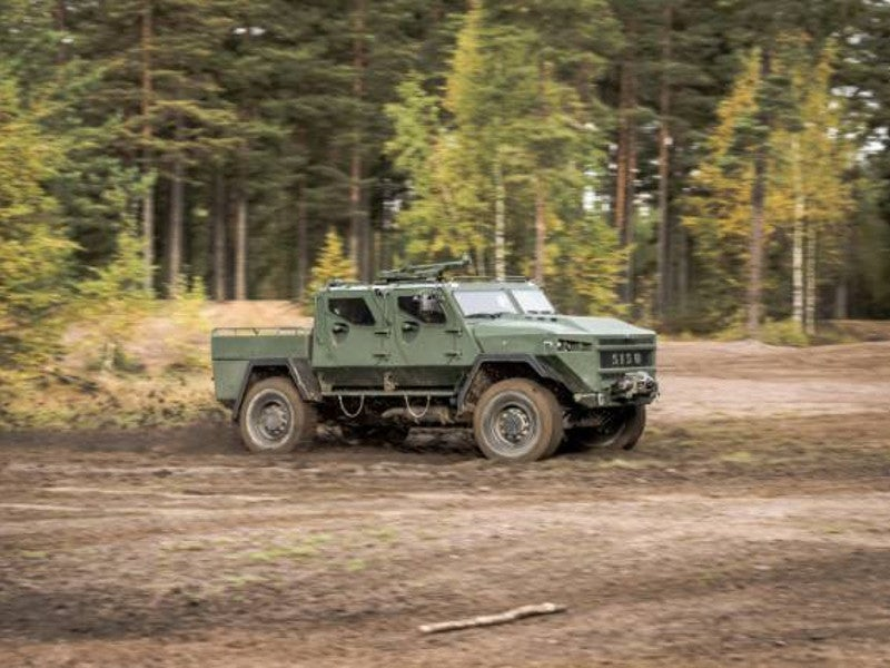 The general purpose vehicle has an overall length of 6m. Image courtesy of SISU Auto.