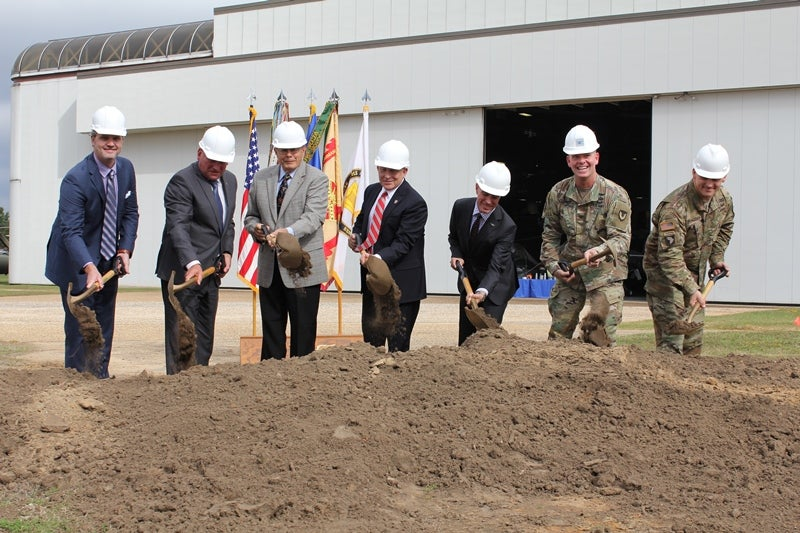 US Army breaks ground on new training support facility at Fort Rucker