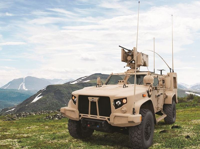 Elbit Systems to integrate weapon stations into Montenegro's Oshkosh JLTVs