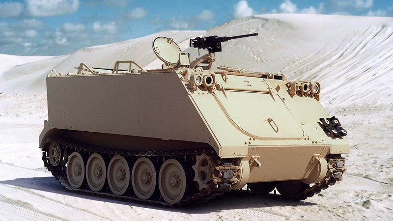 Allison, US Army to upgrade propulsion systems of M113 vehicles