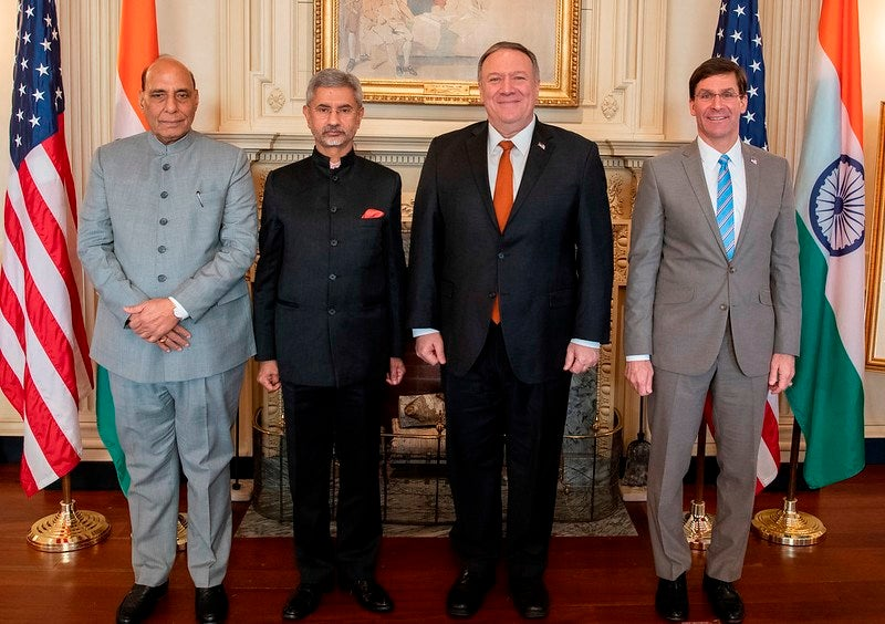 India, US sign critical defence technology transfer pact