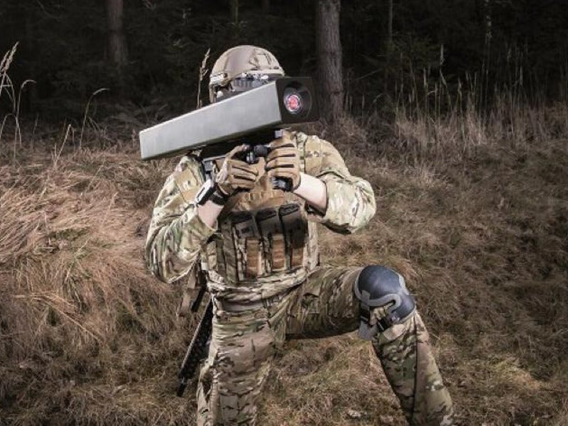 Enforcer is a lightweight, high-precision missile system. Credit: MBDA.
