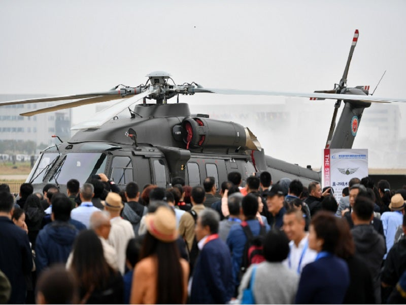 The Z-20 helicopter can perform multiple missions. Image courtesy of Xinhua/Li Ran.