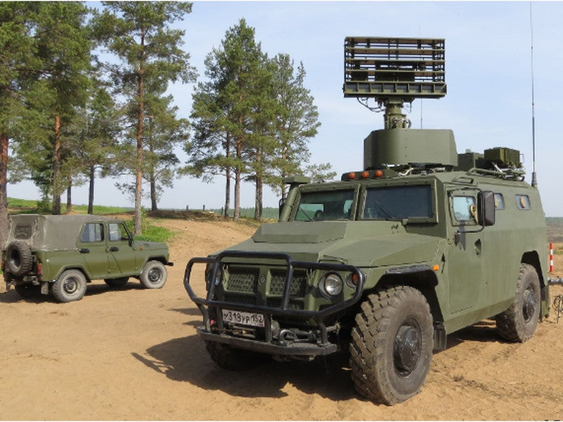 The commander's reconnaissance and combat control vehicle of the Gibka-S system has a crew of three members. Image courtesy of JSC RPC KBM.