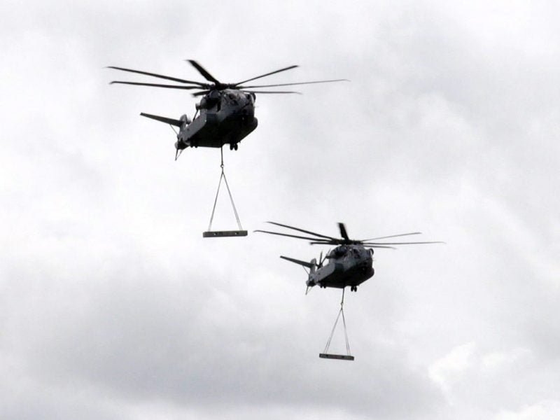 Germany heavy-lift helicopter