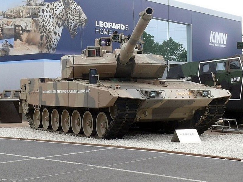 Leopard 2 A7+ Main Battle Tank