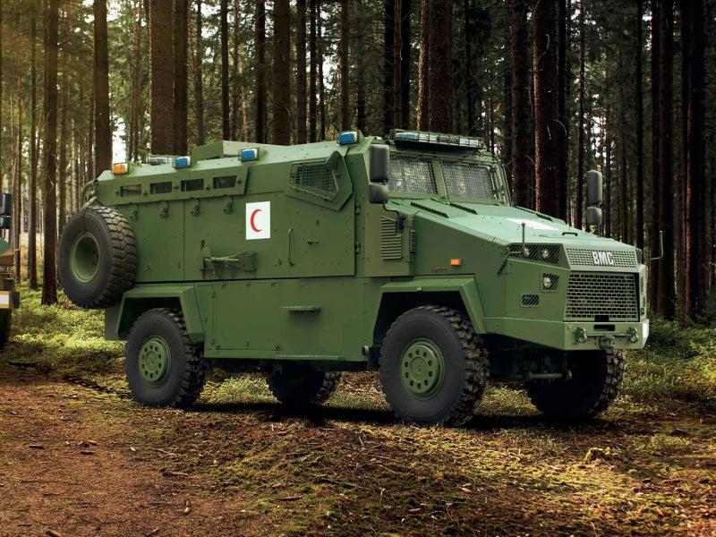 Kirpi (4X4) Ambulance has a customised interior. Image courtesy of BMC.