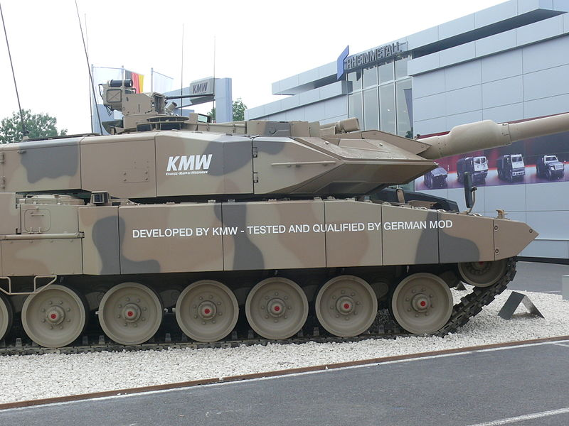 Image 3-Leopard 2 A7+ Main Battle Tank