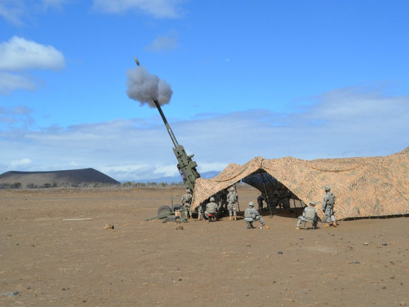 M777 howitzer delivers up to five rounds a minute under intense firing conditions. Credit: US Army/