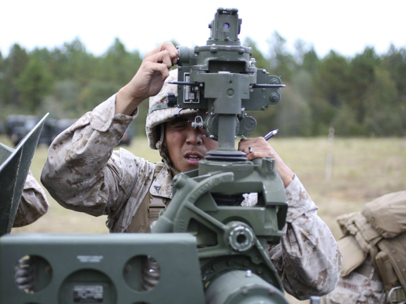 The maximum firing range of the howitzer is 24.7km with unassisted rounds. Credit: Fort Bragg.
