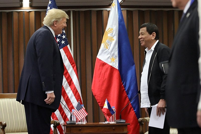 Philippines military agreement