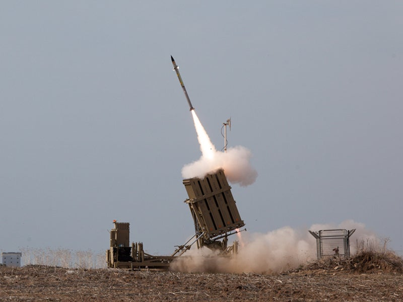 Image 1-Iron Dome Air Defence Missile System