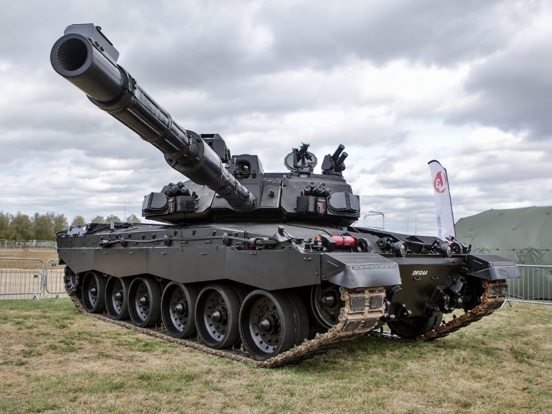 Challenger 2 Main Battle Tank