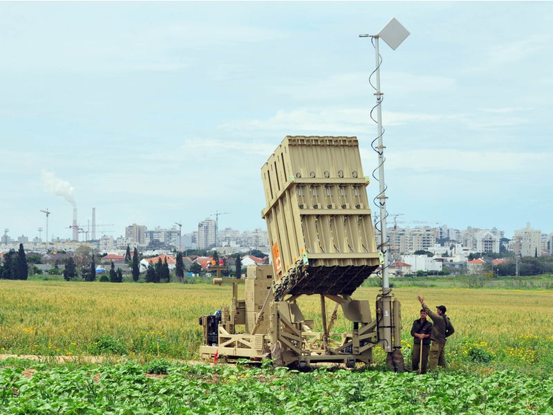 Image 3-Iron Dome Air Defence Missile System
