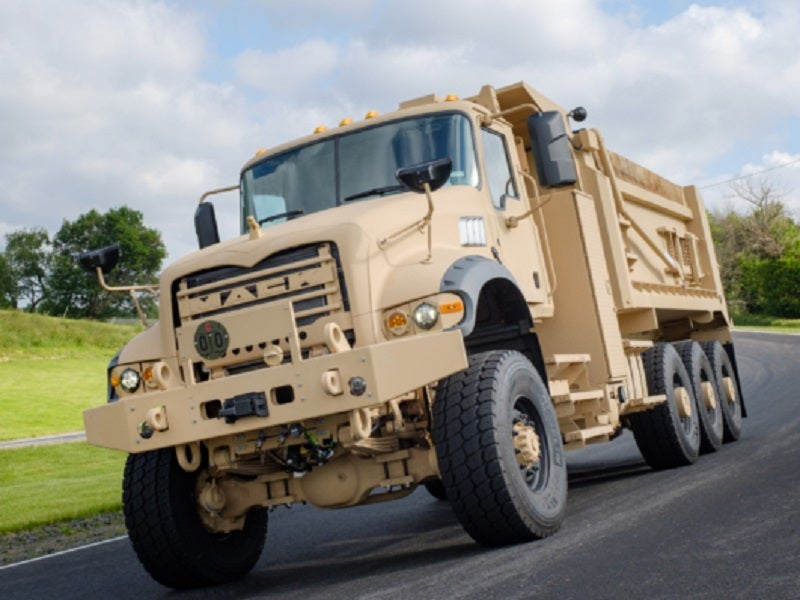 Image 3-M917A3 Heavy Dump Truck - Army Technology