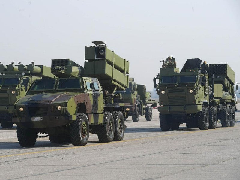 Tamnava MLRS is based on the KAMAZ 6560 8x8 heavy-duty truck. Image courtesy of Yugoimport SDPR J.P.